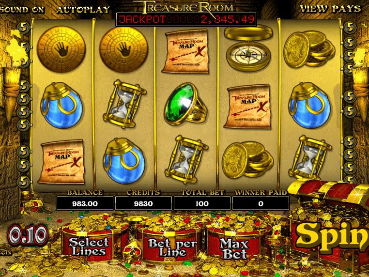 Treasure Room Slot Machine