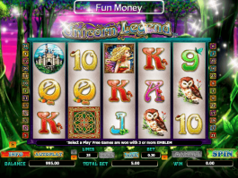 Online free slot Unicorn Legend