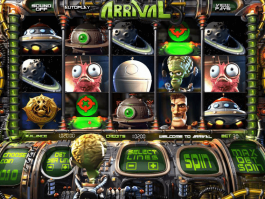Free online casino slot Arrival