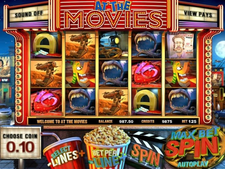 At the Movies online free slot