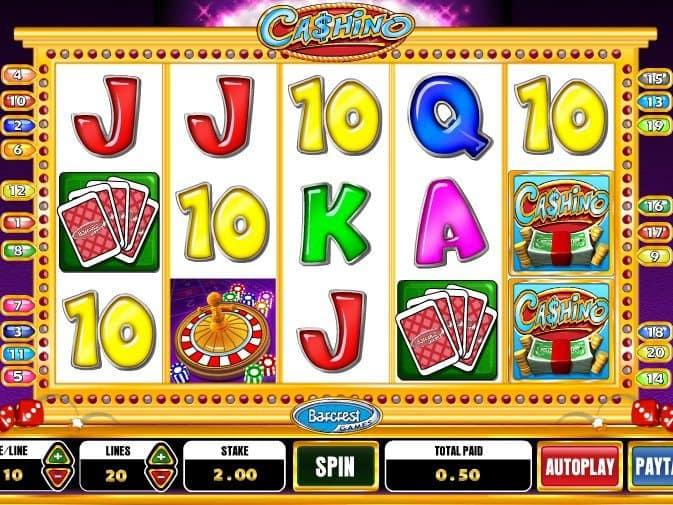Cashino slots