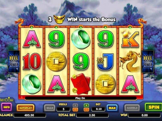 slot machine game Choy Sun Doa online