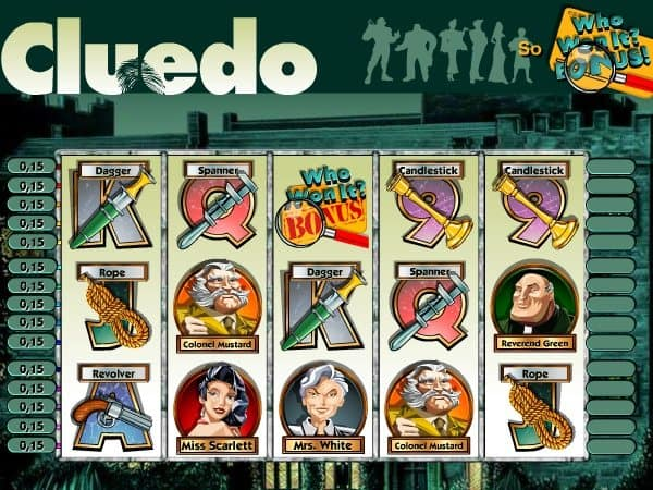 Online free Cluedo slot