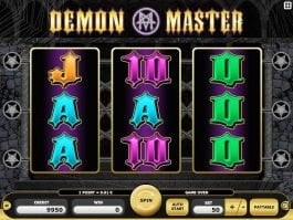 Free online casino Demon Master slot
