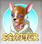 Scatter from casino slot game Diamond Dogs