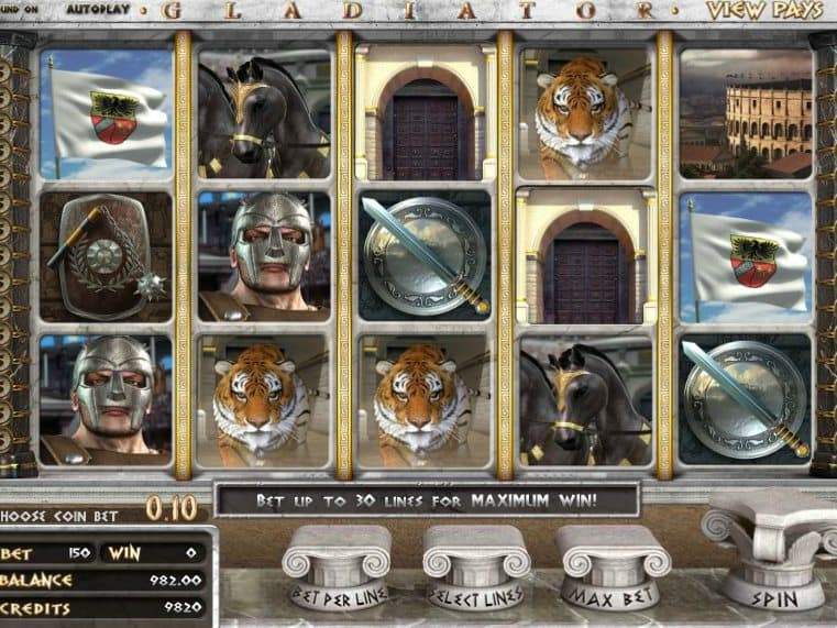 Slot machine online gratis gladiatori
