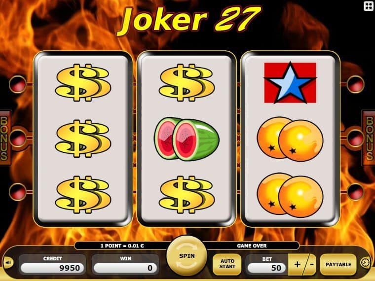 Online free slot machine Joker 27