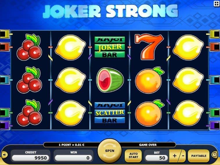 online free slot Joker Strong