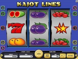 Free online casino slot Kajot Lines