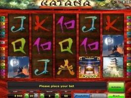 casino game slot Katana for free