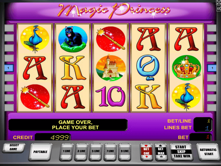 free slot Magic Princess online game