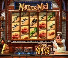 Free spins in slot machine