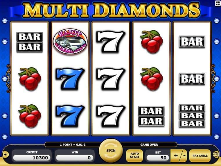 free online casino game slot Multi Diamonds