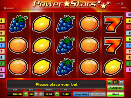 Free online Power Stars slot