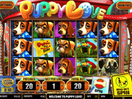 online free slot Puppy Love