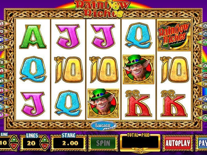 online free casino slot Rainbow Riches
