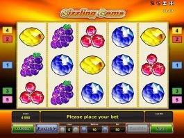 Online slot machine Sizzling Gems