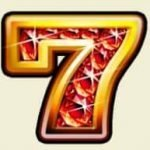 Special symbol from Sizzling Gems online casino slot game