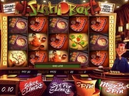 casino slot game Sushi Bar free online