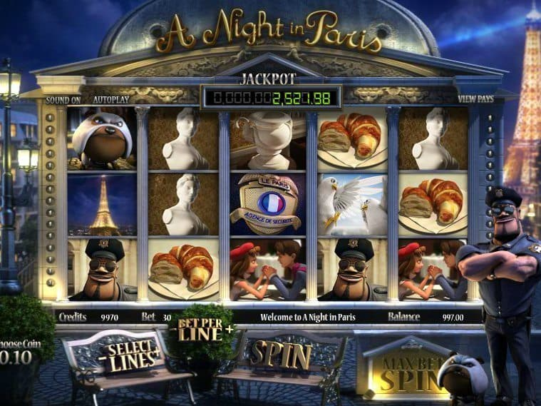 free casino slot A Night in Paris online