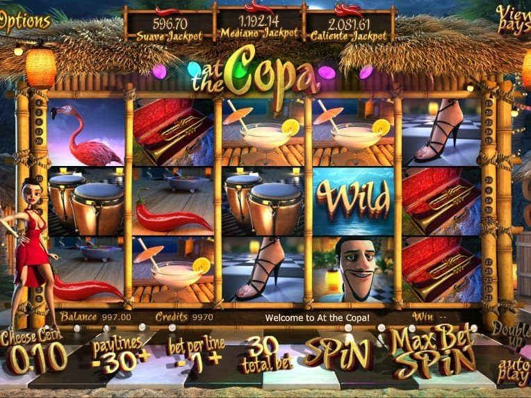 Casino game slot At the Copa free online