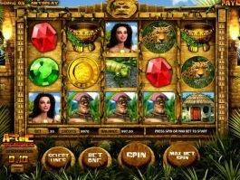 free online casino slot machine Aztec Treasures