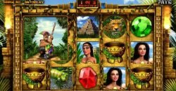Special feature of Aztec Treasures free slot