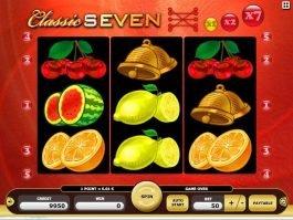 play free online slot machine Classic Seven