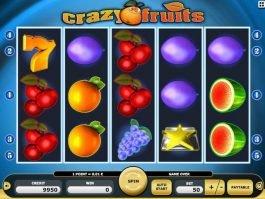 Online casino game Crazy Fruits