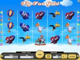 free casino game slot Fly for Gold
