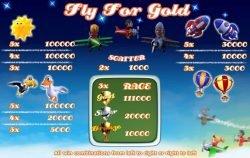 Gra hazardowa Fly for Gold