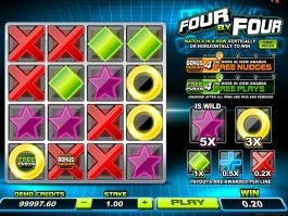 play Four by Four free online slot