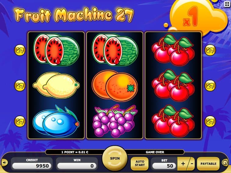 Slot Machine Fruits