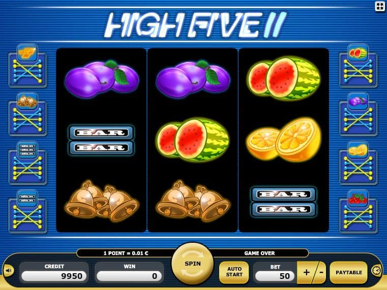 play free casino game slot High Five II online
