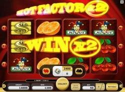 Hot Factor ingyenes online nyerőgépes casino játék