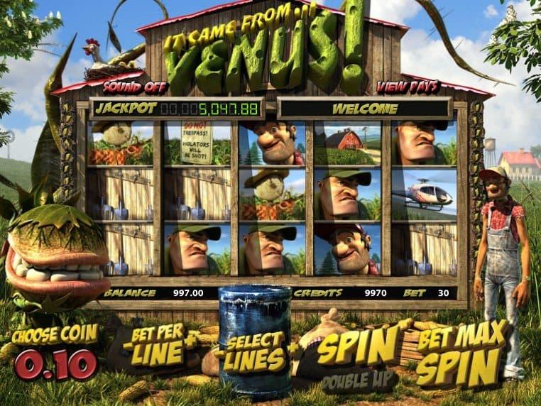 free online casino slot machine It Came from Venus