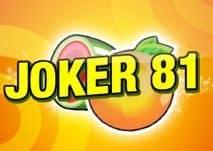 Logo maszyny do gier Joker 81