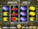 Casino slot machine Joker Area with no deposit