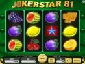free online slot machine Jokerstar 81