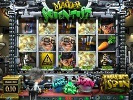 Madder Scientist online free slot