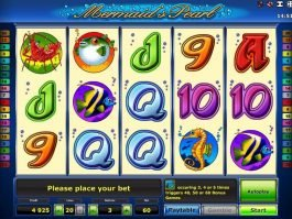 free casino game Mermaid´s Pearl