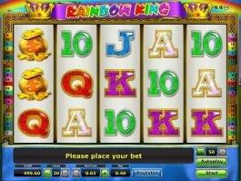 free online casino slot Rainbow King by Novomatic