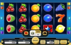 Gamble mode of online casino slot Simply Gold II