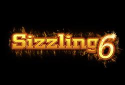 Sizzling 6 slot - logo