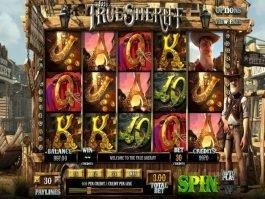 The True Sheriff free online slot machine game