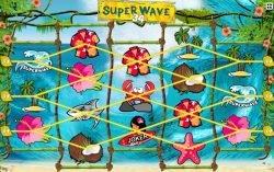 Liniile câştigătoare din jocul ca la aparate Super Wave 34