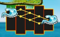 Возможность Суперволна бесплатного игрового автомата Super Wave 34