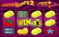 Free Super lines 2 Slot machine´s x3 multiplier