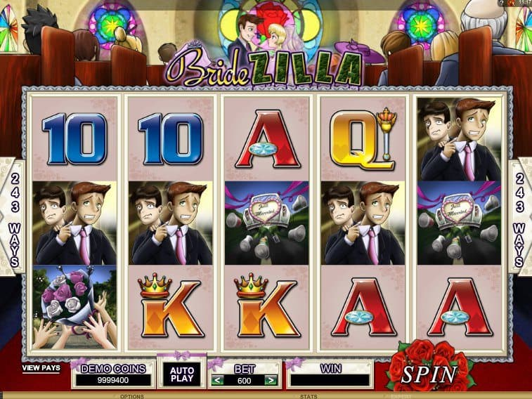 Casino game slot BrideZilla free online
