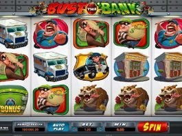 Bust the Bank online free slot game